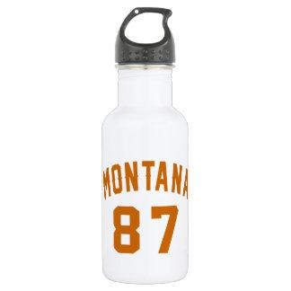 Garrafa Montana 87 designs do aniversário