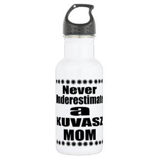 Garrafa Nunca subestime a mamã de KUVASZ