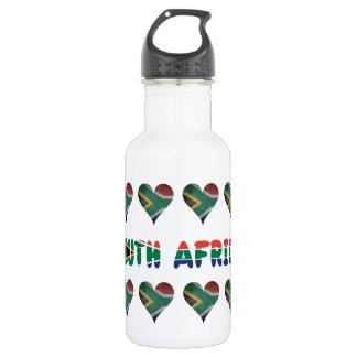 Garrafa Sul - coração africano