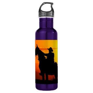 Garrafa Vaqueiro-Vaqueiro-luz do sol-ocidental-país do por