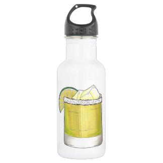Garrafa Verde limão da bebida misturada do cocktail do