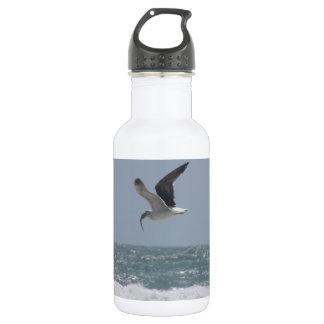 Garrafas de água da gaivota