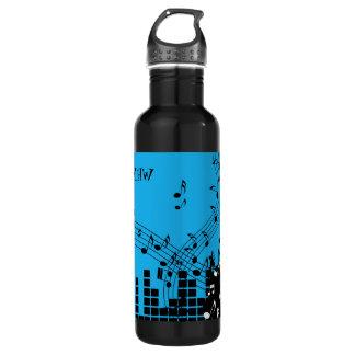 Garrafas de água feitas sob encomenda do monograma