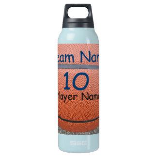 Garrafas de água personalizadas do número da