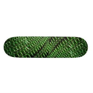Garrafas verdes originais skate personalizado