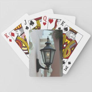 Gaslight, antiguidade, vintage, preto, fotografia jogo de carta