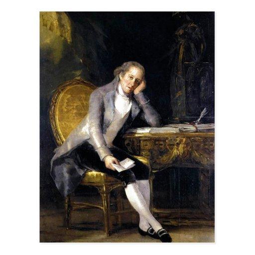 Gaspar Melchor de Jovellanos sumário. Por Francisc Cartao Postal