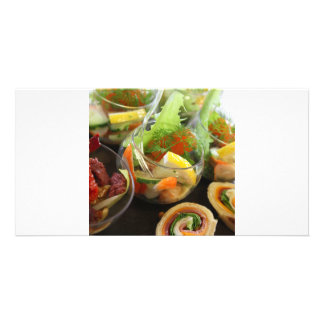 gastronomia cartao com fotos