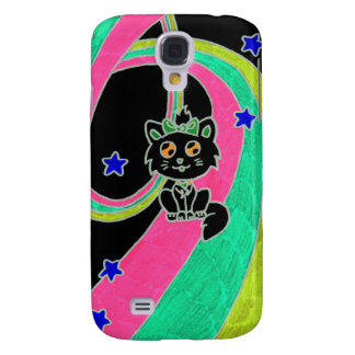 gatinho bonito capas personalizadas samsung galaxy s4