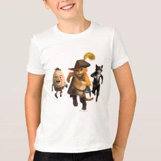 Gatinho de Humpty do Puss do CG Camiseta