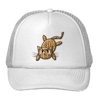Gatinho ultra bonito do leopardo do Anime Boné