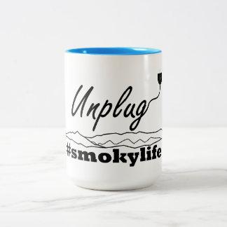 Gatlinburg desconecta a caneca de café