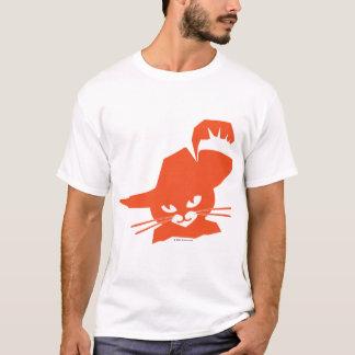 Gato alaranjado camiseta