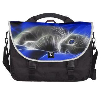 gato azul mochila para notebook