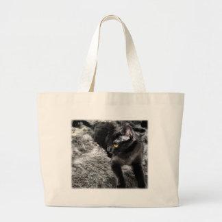 gato bolsa para compras