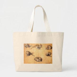 gato bolsa de lona