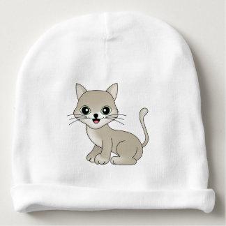 Gato bonito gorro para bebê