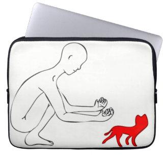Gato Capa Para Notebook