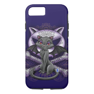 Gato com asas, capas de iphone do vampiro do