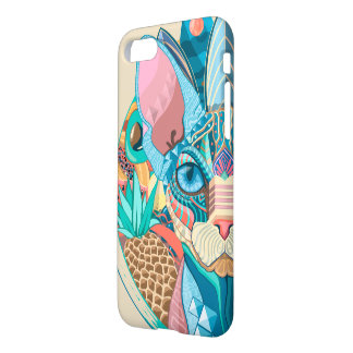 Gato cósmico de Sphynx Capa iPhone 8/7
