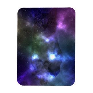 "Gato da galáxia 3"" x 4"" ímã da foto"
