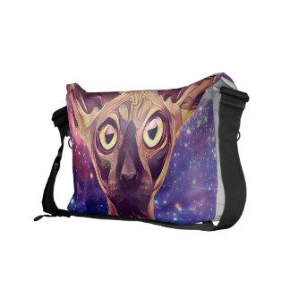 Gato da galáxia bolsas mensageiro
