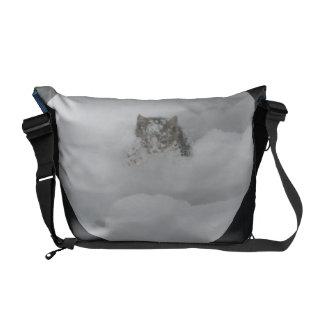 Gato da neve bolsas mensageiro