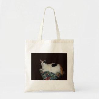 Gato de chita bolsa de lona
