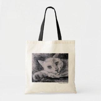 Gato de descanso bolsas para compras