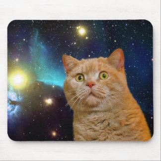 Gato de Mousepad no espaço