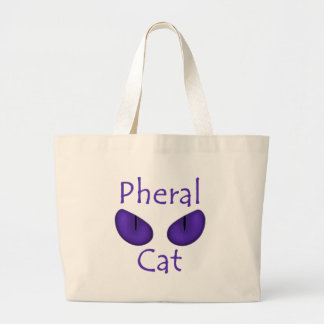 Gato de Pheral (olhos roxos) Bolsas