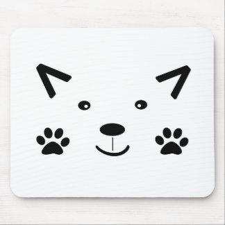 Gato demasiado bonito mouse pad