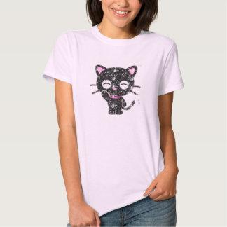 gato do brilho tshirts