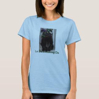 Gato do carnaval camiseta