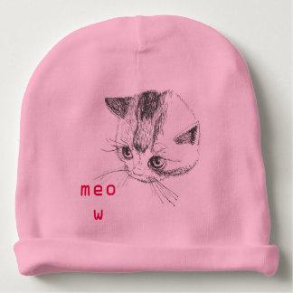 Gato do gatinho do chapéu do bebê que tira a cor gorro para bebê
