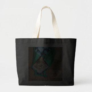 Gato do savana em um saco… Saco Sacola Tote Jumbo