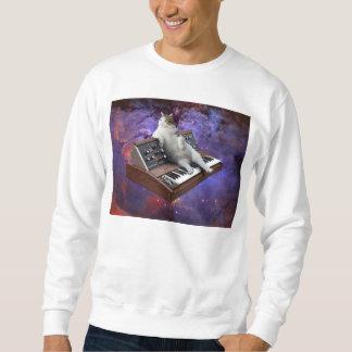 gato do teclado - memes do gato - gato louco moletom