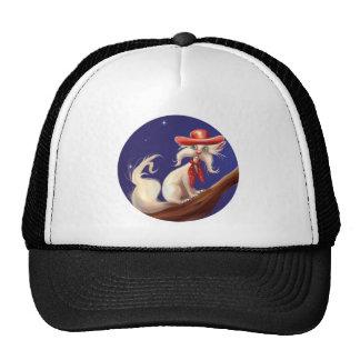 gato dos desenhos animados com chapéu de vaqueiro bones