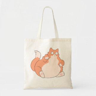 Gato gordo bolsa tote