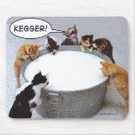 Gato Kegger Mousepad
