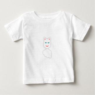 Gato Knaomi contente Camiseta Para Bebê