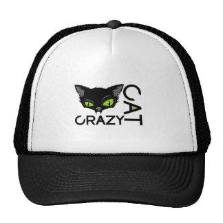 gato louco boné