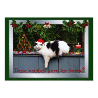 Gato Loving do biscoito Convites Personalizados