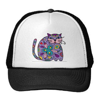 Gato lunático legal um design, Puuurrrfect! Boné