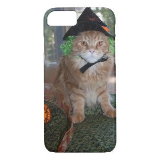 Gato magro da bruxa do racum das capas de iphone