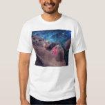 Gato mega de Derp no espaço T-shirts