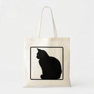 Gato preto bolsas