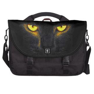 gato preto, gatos bolsa para computador portátil