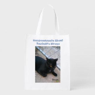 Gato preto sacola ecológica