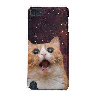 gato scaredy no espaço capa para iPod touch 5G